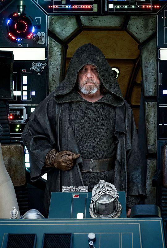 Luke Skywalker from Star Wars: The Last Jedi