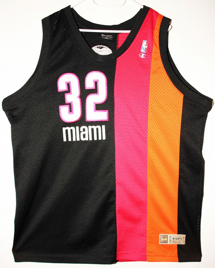 Champion NBA Basketball Miami Heat #32 Shaquille O'Neal Trikot/Jersey Size 52 - Größe XXL - 129,90€ #nba #basketball #trikot #jersey #ebay #sport #fitness #fanartikel #merchandise #usa #america #fashion #mode #collectable #memorabilia #allbigeverything