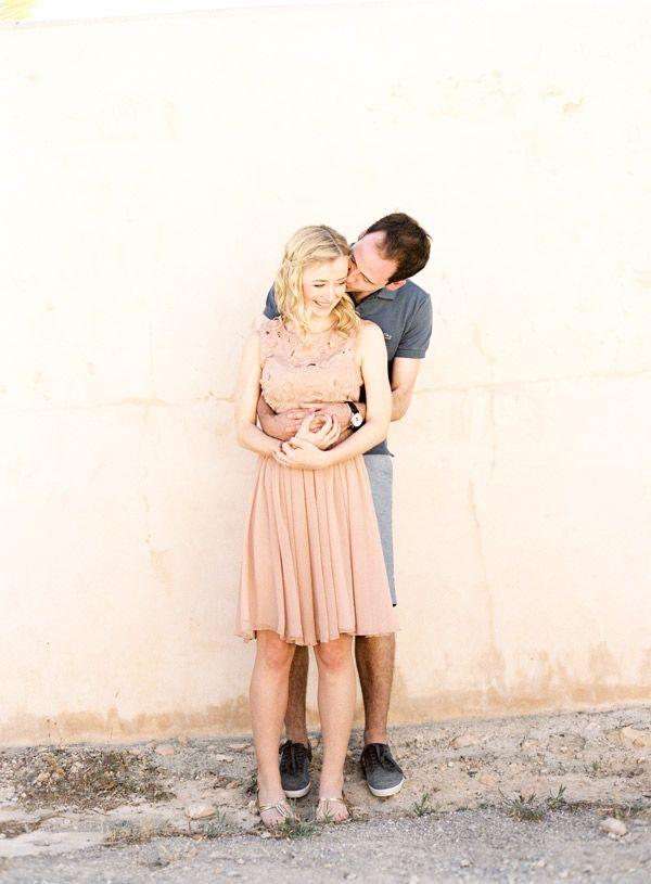 gorgeous pastels in this Ibiza engagment shoot