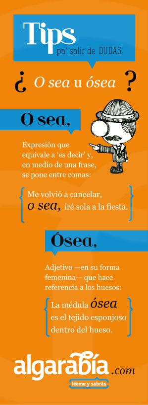 ¿O sea u ósea? #tip #español #lengua