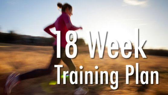 18-Week Half Marathon Training