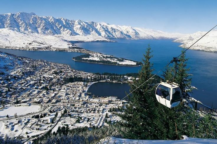 Queenstown - for the best views of Queenstown take a trip up the Skyline Gondola (My Destination)