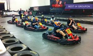 Groupon - Two Same-Day Go-Kart Races for Two or Four at Fast Lap-Las Vegas (Up to 63% Off) in Paradise. Groupon deal price: $41