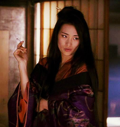 Gong Li as Hatsumomo in Memoirs of a Geisha