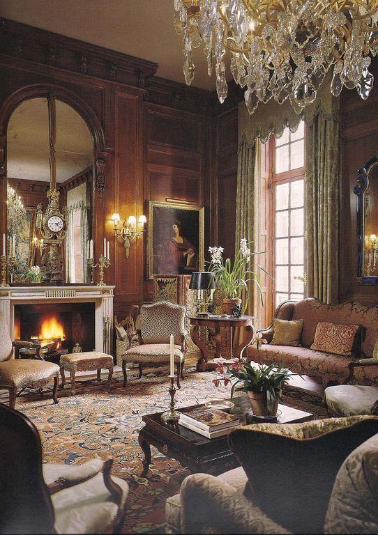 English Living Room Decor (69)
