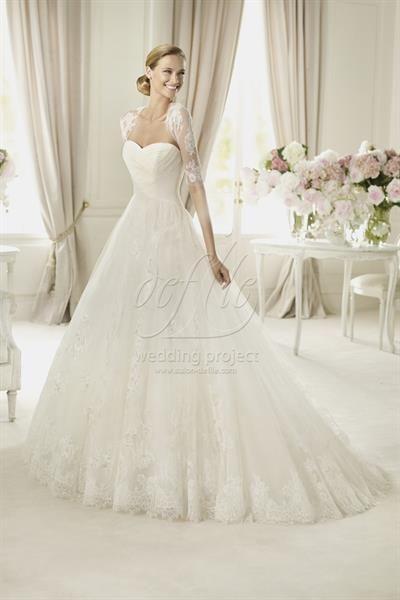 Испанское свадебное платье купить pronovias