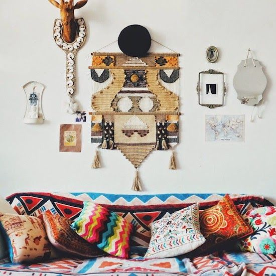 Boho Western Inspiration Living Room | http://westwing.me/shopthelook