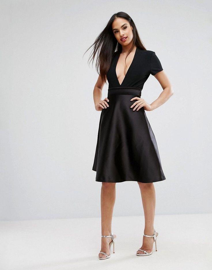 elegante sommerkleider mit arm trendige kleider f r die saison 2018. Black Bedroom Furniture Sets. Home Design Ideas