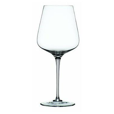 Spiegelau Hybrid Bordeaux Glass, Set of 6 by Spiegelau. $107.99. Set of six Bordeaux wine glasses. Exceptional durability and brilliant clarity. Excellent for serving sparkling wines and champagne. Dishwasher safe. Lead-free crystal with generous sized bowls. This set of six Hybrid Bordeaux wine glasses from Spiegelau feature a unique platinum finishing process to increase durability and add brilliant shine. The thin, laser cut and polished rims maximize your drinking...