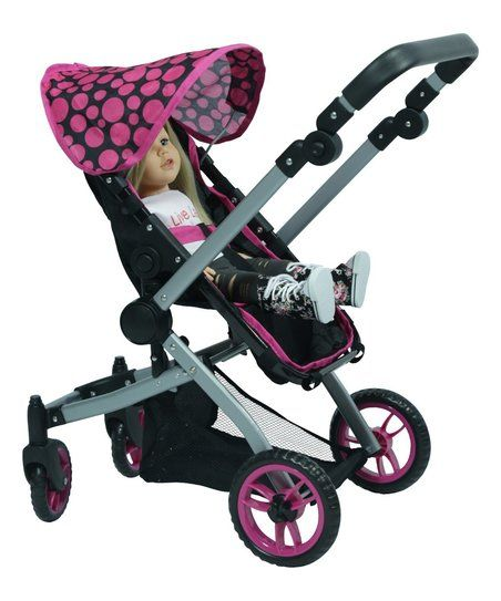 The New York Doll Collection Deluxe Doll Stroller for 18 Doll | zulily