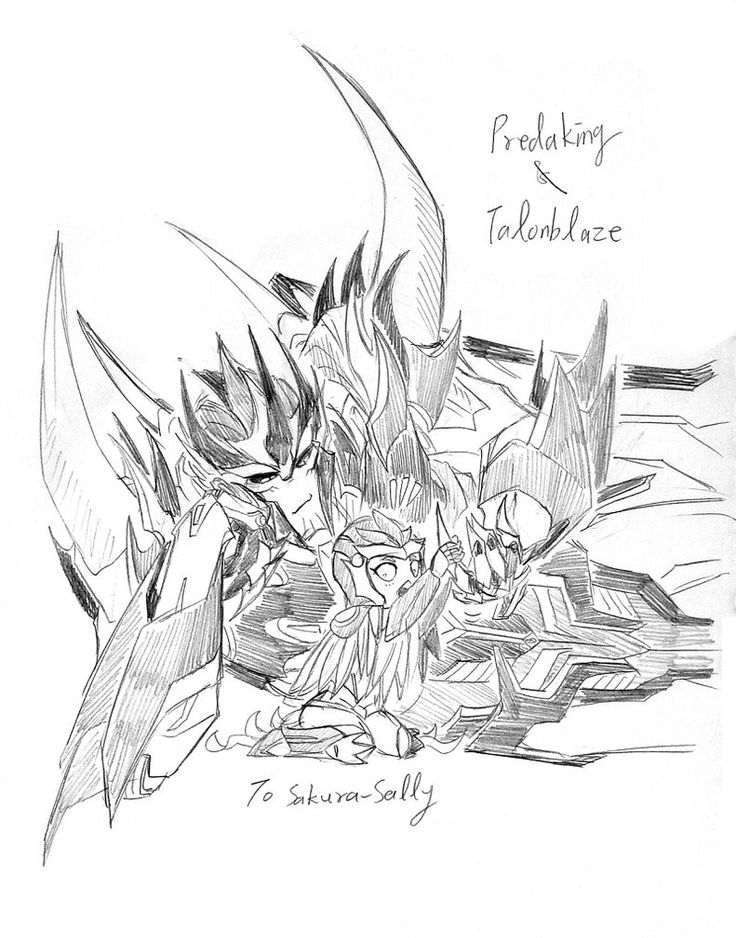 Predaking transformers coloring pages ~ 1303 best Transformers images on Pinterest   Fan art ...