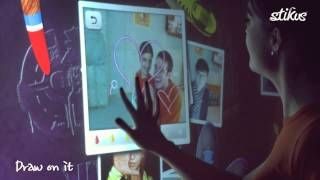 interactive wall - YouTube