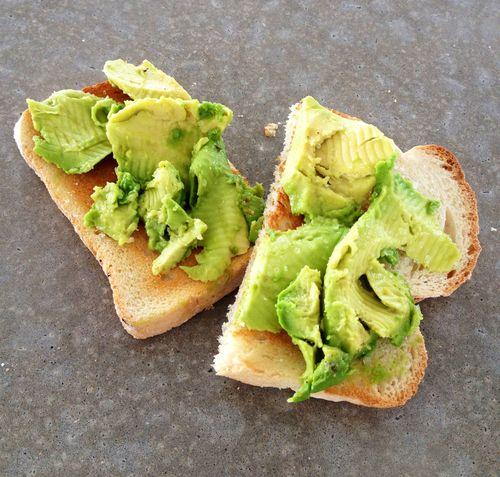 avocado on toast..simple & yum
