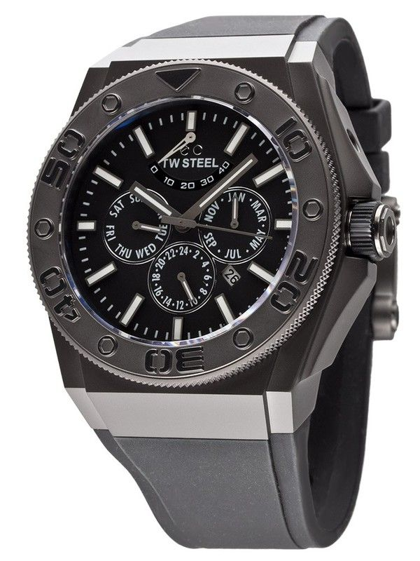 DESIGNER BRANDS TW STEEL CEO Ref. TWCE5001 Diver Automatic 48 mm - Swiss made watches - SwissTime