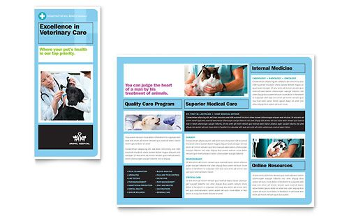 Website, Hospitals Brochures, Brosure, Adalah Media, Animal Hospitals ...