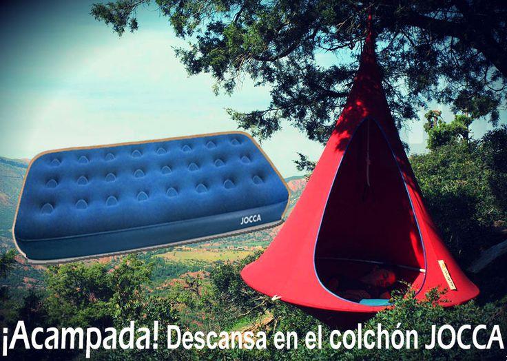 Acampadas al aire libre sin renunciar a la comodidad.  A nosotros nos encanta acampar, nos lo pasamos en grande, desde luego si eres de los nuestros que no te falte este colchón  http://www.qualimail.es/colchon-con-inflador-manual.html?utm_source=acampadas&utm_medium=acampadas&utm_campaign=redes%20sociales