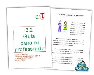 MALETÍN DEL PROFE | Intervención educativa con el alumnado tartamudo. Guía para el profesorado ~ La Eduteca