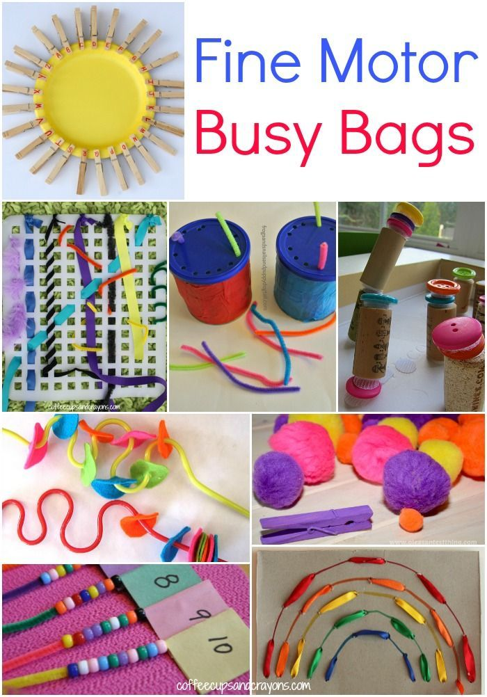 Fine Motor Busy Bags For Kids Fine Motor Busy Bags And