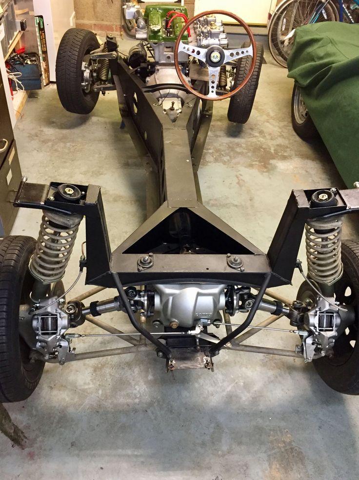 Lotus Elan S2 1965 rear suspension Homemade Go Kart, Go