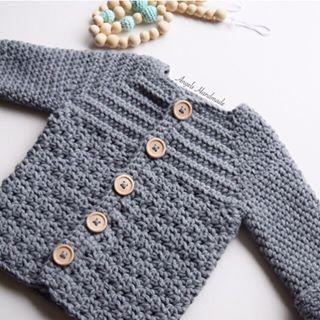 Angels Handmade - gehaakt baby vestje