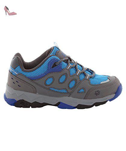 Activate Texapore Low M Wasserdicht, Chaussures de Randonnée Basses Homme, Gris (Burly Yellow XT), 38 EUJack Wolfskin