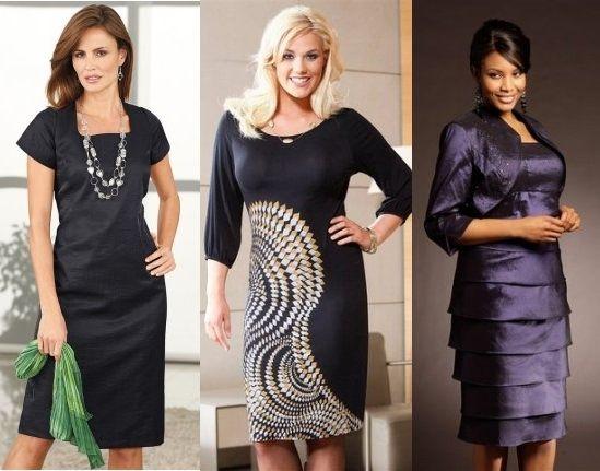 Сocktail dress for women in 50 years