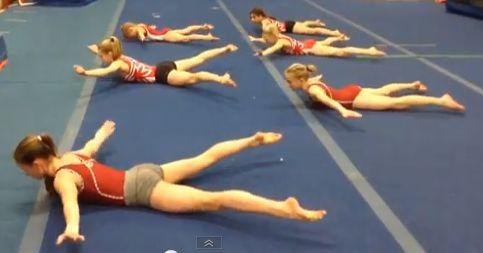 Uptown Abs workout at Gymtastics Gym Club   Gymnastics News Network