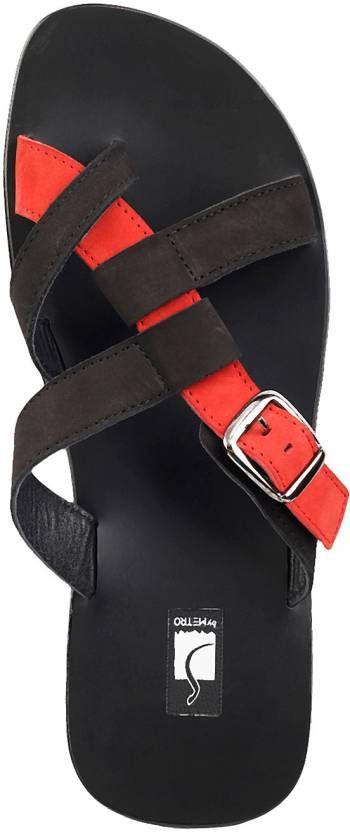 Metro Men Black, Red Sandals - Buy 67,Black-Red Color Metro Men Black, Red Sandals Online at Best Price - Shop Online for Footwears in India | Flipkart.com