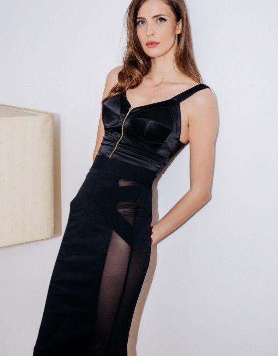 Stark Skirt   Retro Bra Top