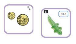 Plein de jeux à télécharger : l'élève doit essayer de faire des paires et retourne les cartes pour s'auto-corriger : un symbole identique, au dos, valide la paire. Possibilité de jouer à 2 ou 3 joueurs.