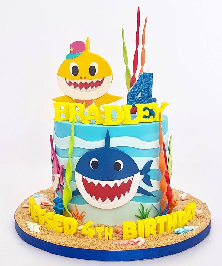 38 best Baby Shark Party images on Pinterest | Baby shark, Shark and ...
