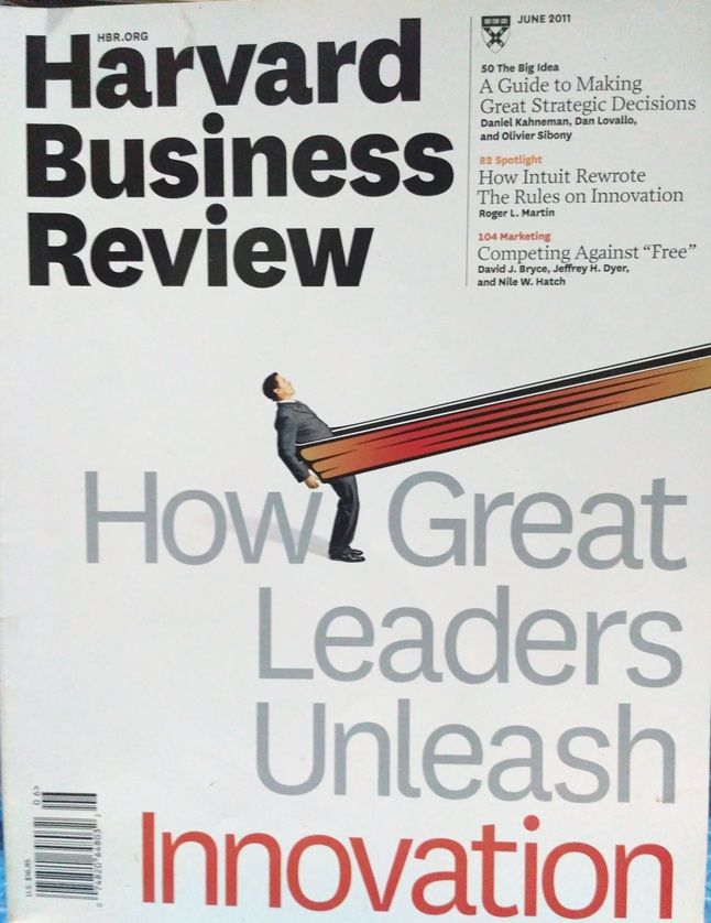 HBR How Great Leader Enleash Innovation
