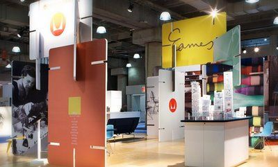 Graphic Statement: Installations: Herman Miller Tradeshow Booth