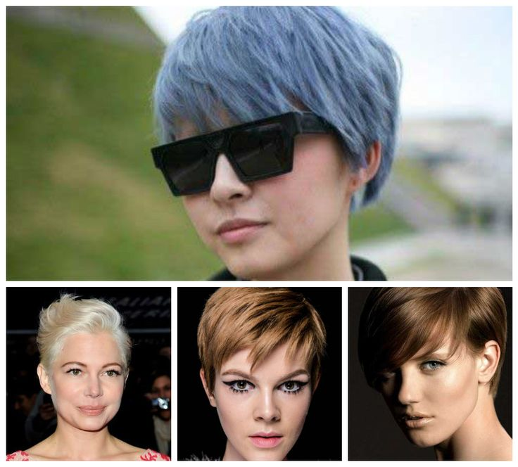 Beautiful hair colors for Pixie Haircuts 2018
