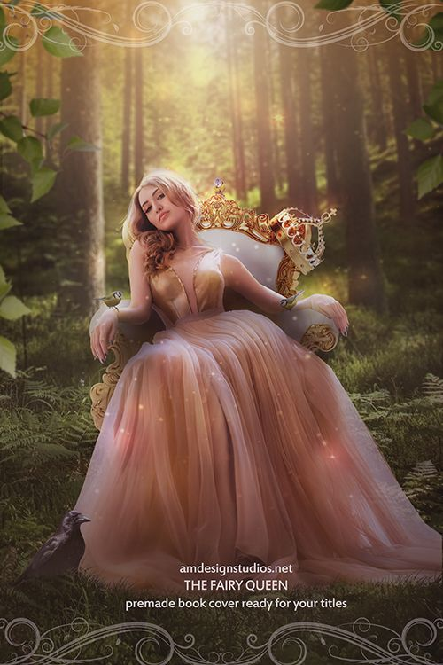 beautiful and affordable!  Premade Book Cover Art_4212 - fairy, queen, nature, fantasy, magic, witches, romance