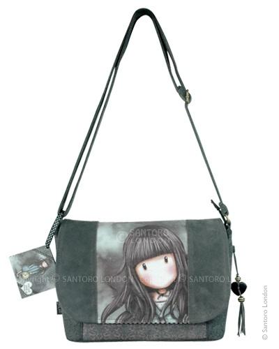 Shoulder Bag, White Rabbit - Santoro's Gorjuss