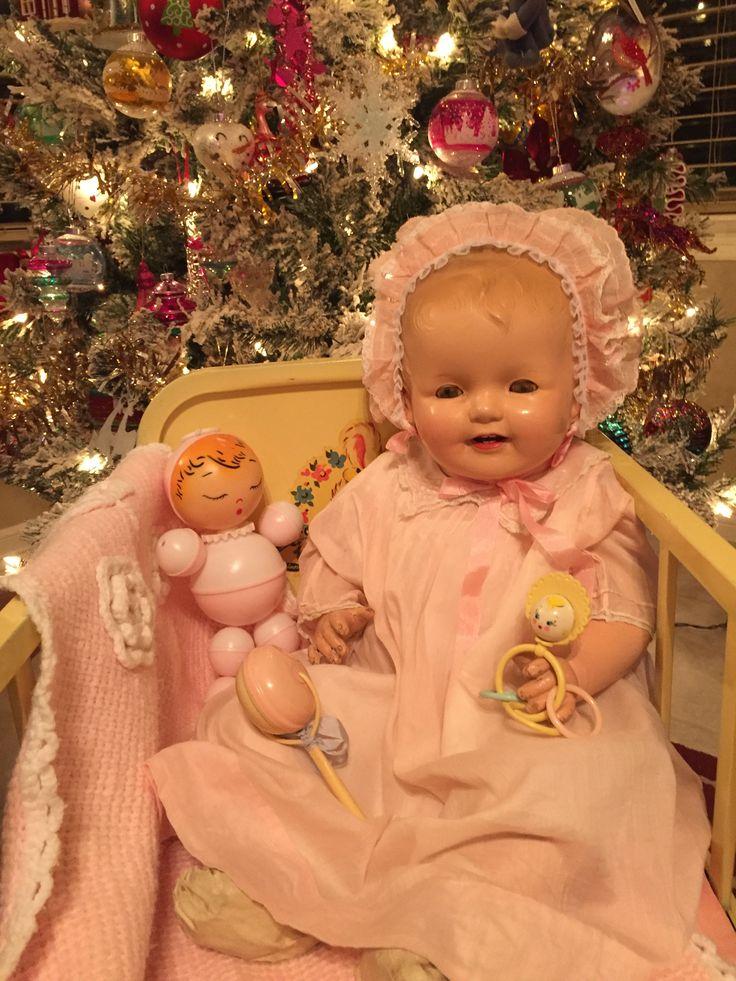 952 best All Kinds of Christmas Dolls images on Pinterest  Dolls
