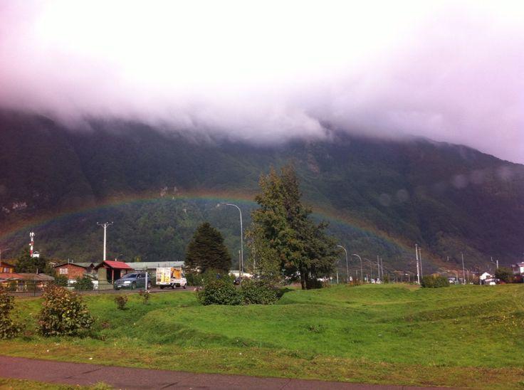 Rainbow, Puerto Aysen, Patagonia