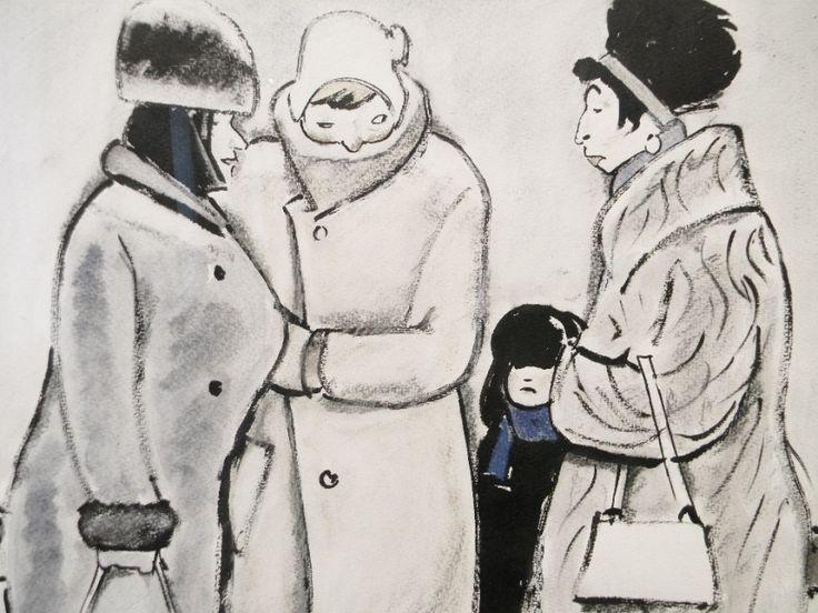 Сойфертис Леонид Владимирович (Россия, 1911-1996) «Встреча на бульваре»