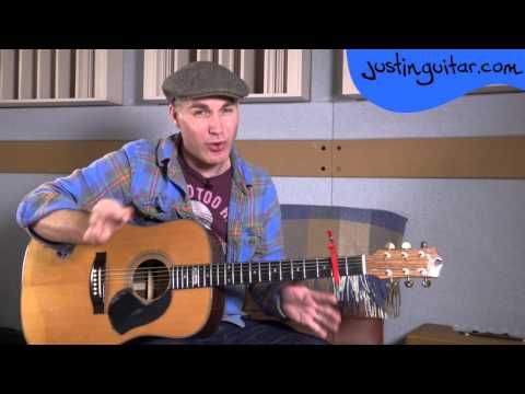Stand By Me - Ben E King - Easy Beginner Song Guitar Lesson Tutorial (BS-323) - YouTube