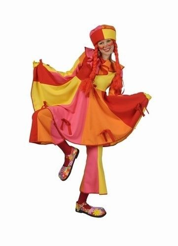 Clown kostuum dames 0486