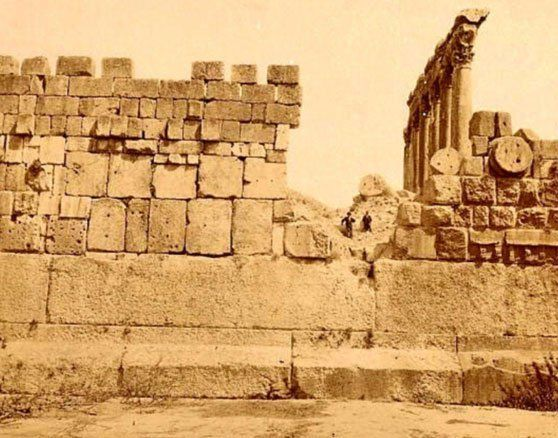 The Temple of Jupiter, Baalbek
