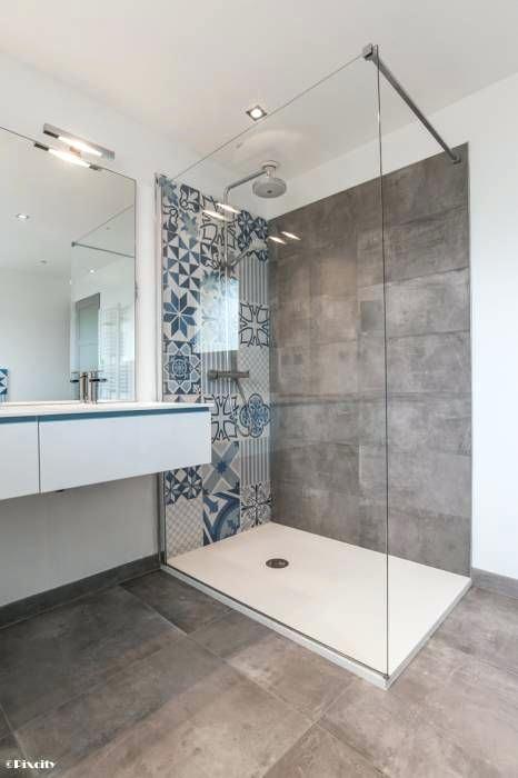 Tendance carrelage 2017 en 2019 id e salle de bain - Carrelage salle de bains design ...