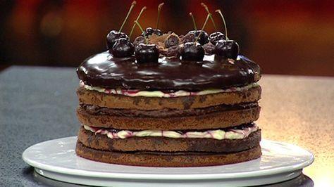 Black Forest Cake   Masterchef Australia ... Gary Mehigan