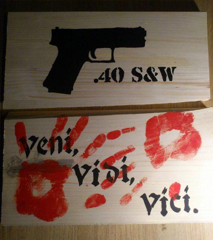 #WallDecor #gun