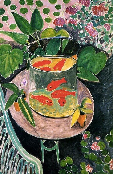 Henri Matisse (French, Fauvism, 1869-1954): Goldfish, 1911.