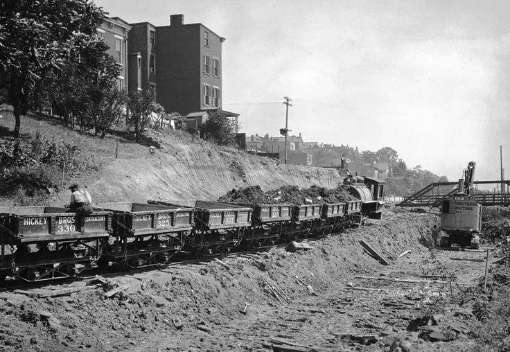 Cincinnati subway construction