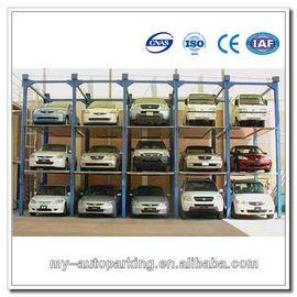 On Sale! 4 Post 4 Floors Vertical Parking Car Stack Parking System 3-5 Level Parking Lift