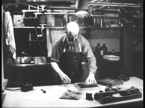 Documentary film about Ansel Adams, Photographer (1958) narrated by Beaumont Newhall
