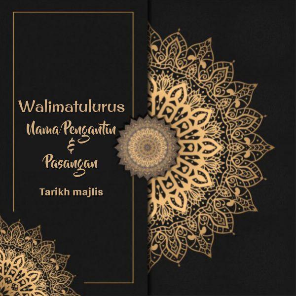 Contoh Muka Depan Kad Jemputan Kahwin Tapestry Projects To Try Templates